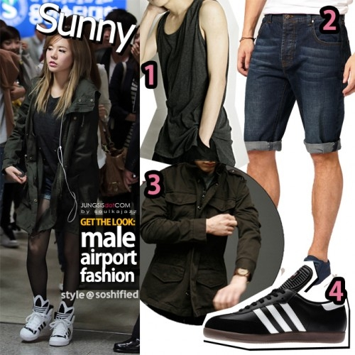 Get The Look Airport Fashion Male Version The Yesstylist
