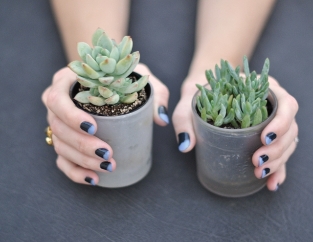 Dip Painted Nails… or Messy French Tip ManicureTHE YESSTYLIST
