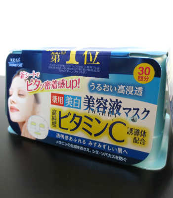 YesStyle BeautyLab Kose Clear Turn Essence Mask (Vitamin C) Review