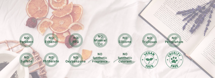 EcoFriendly Beauty Brands - Purito no harmful ingredients list