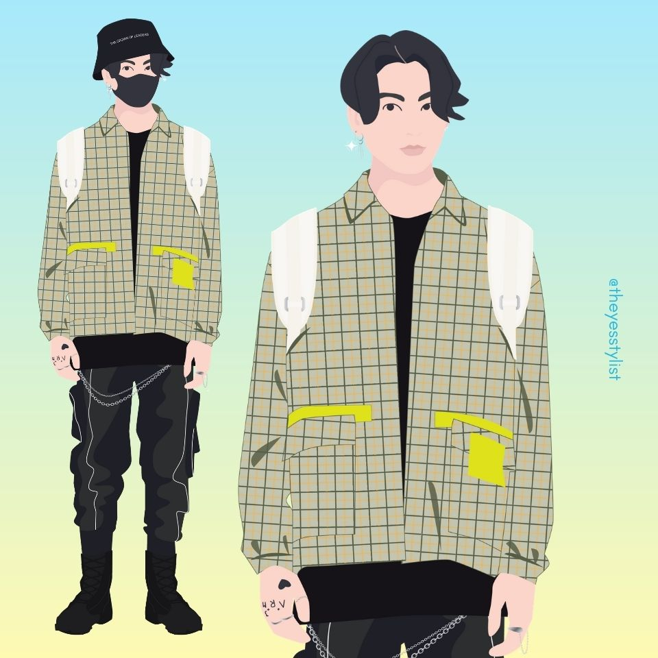 BTS Jungkook illustration