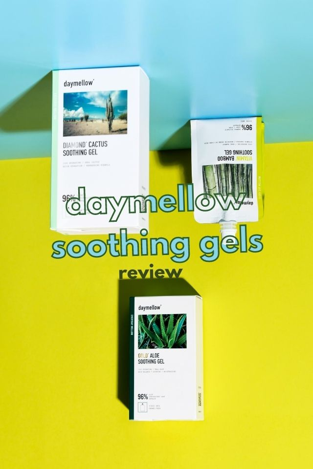 daymellow soothing gels feature image