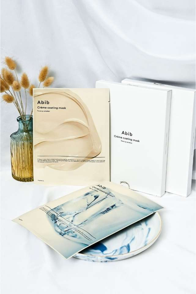Abib Creme Coating Masks - two solutions