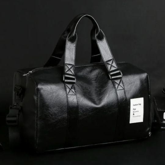 Endemica - Faux Leather Carryall Bag